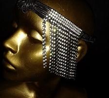 Acessórios para festas de época:headpieces Grand Gatsby