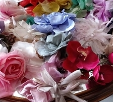Curso de Flores de Tecido para Vestidos e Grinaldas